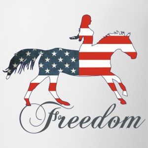 Freedom - Horse T-Shirts - Coffee/Tea Mug
