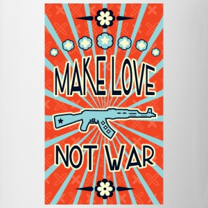 make love not war propaganda Hoodies - Coffee/Tea Mug