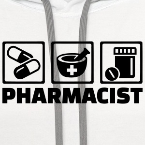 Pharmacist T-Shirts - Contrast Hoodie