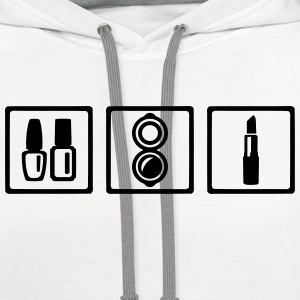Cosmetician T-Shirts - Contrast Hoodie