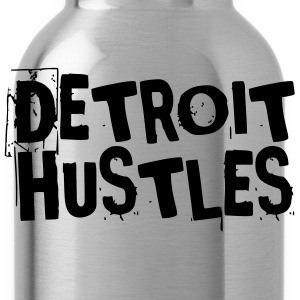 Detroit Hustles Harder T-Shirts - Water Bottle