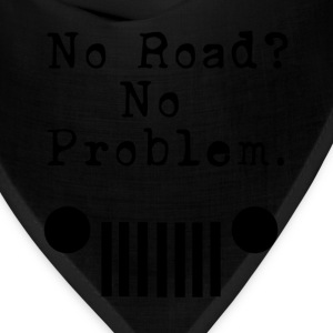 No Road No Problem - Bandana