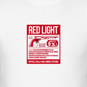 f(x) red light hoodie - Men's T-Shirt