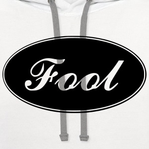 Fool T-Shirts - Contrast Hoodie