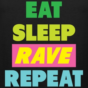 Eat keep Rave Repeat - Men's Premium Tank