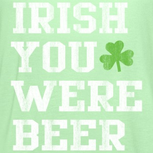 Irish you were beer - Women's Flowy Tank Top by Bella