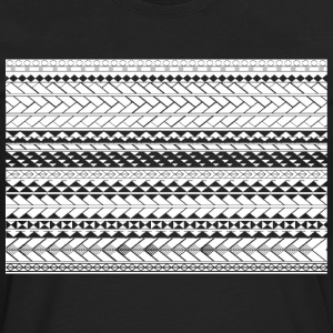Tapu by SKU (samoan_tribal_band) Hoodies - Men's Premium Long Sleeve T-Shirt