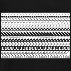 Tapu by SKU (samoan_tribal_band) Sweatshirts - Men's Premium T-Shirt