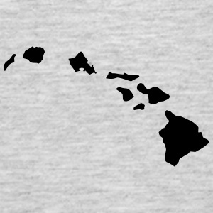 Hawaii Island Chain Shirt - Men's Premium Tank