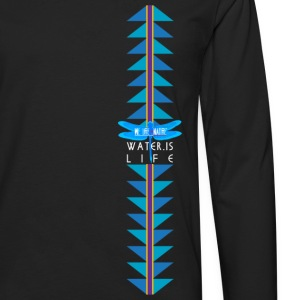Water is Life - Medicine Waters Kids' Shirts - Men's Premium Long Sleeve T-Shirt