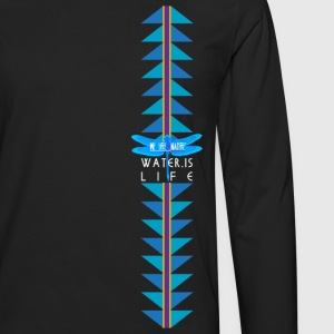 Water is Life - Medicine Waters Women's T-Shirts - Men's Premium Long Sleeve T-Shirt