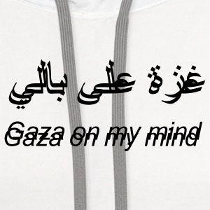 Gaza on my mind T-Shirts - Contrast Hoodie