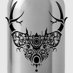 Mystic Deer Tank Black - Water Bottle