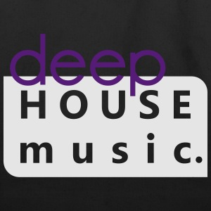 Deep House Music - Eco-Friendly Cotton Tote