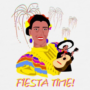 Fiesta Time Coffee Mug - Men's Premium T-Shirt