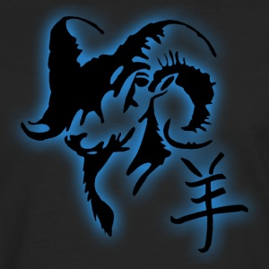 Chinese Year of The Sheep Ram Goat - Men's Premium Long Sleeve T-Shirt