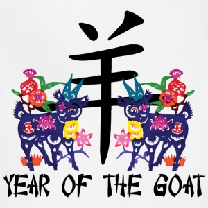 Chinese Year of The Sheep Ram Goat - Adjustable Apron