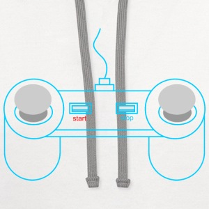 game console - Contrast Hoodie