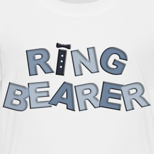 BP Letters Ring Bearer Kids' Shirts - Toddler Premium T-Shirt