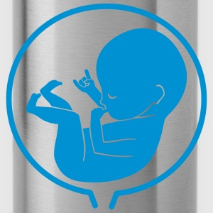 Future Rockstar - rocking fetus Women's T-Shirts - Water Bottle