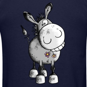 Happy Donkey - Animal Long Sleeve Shirts - Men's T-Shirt