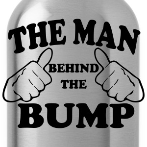 The Man Behind the Bump T-Shirts - Water Bottle