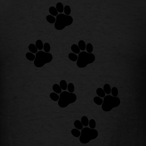 Paws, Pawprints Hoodies - Men's T-Shirt
