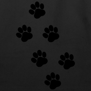 Paws, Pawprints Hoodies - Eco-Friendly Cotton Tote