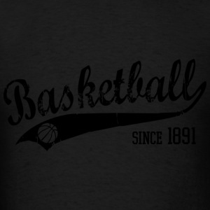 Basketball since 1891 Slogan black Hoodies - Men's T-Shirt