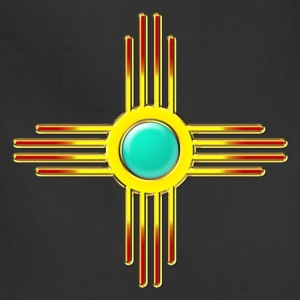 Zia Sun, Zia Pueblo, New  Mexico, Sun Symbol, DD 1 T-Shirts - Adjustable Apron