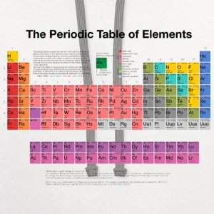 Periodic Table of Elements (PTE) dark Women's T-Shirts - Contrast Hoodie