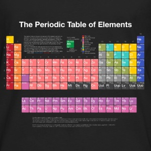 Periodic Table of Elements (PTE) light. Tanks - Men's Premium Long Sleeve T-Shirt