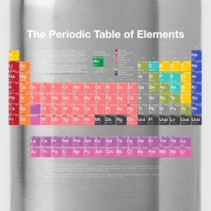 Periodic Table of Elements (PTE) light. Sweatshirts - Water Bottle