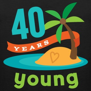 40th Birthday hawaiian T-Shirts - Men's Premium Tank