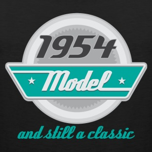 1954 Birth Year Birthday Hoodies - Men's Premium Tank