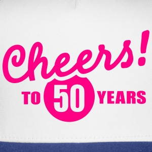 Cheers 50 birthday T-Shirts - Trucker Cap