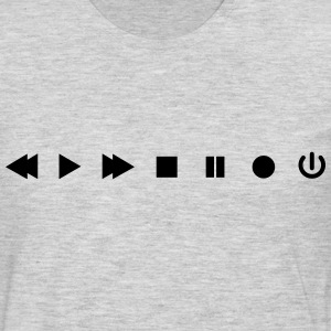 Player Buttons - Men's Premium Long Sleeve T-Shirt
