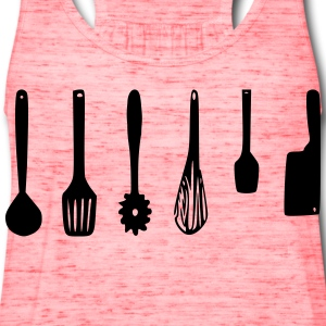 Kitchen Utensils - Women's Flowy Tank Top by Bella