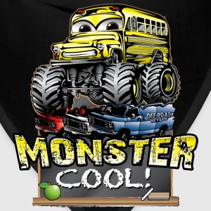 Monster Kids Bus Kids' Shirts - Bandana