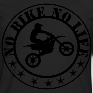 nobikenolife T-Shirts - Men's Premium Long Sleeve T-Shirt