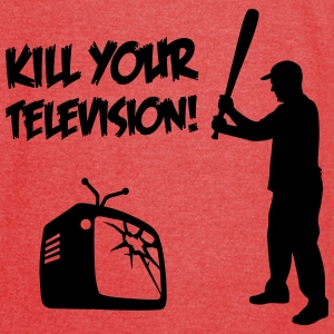 Kill Your Television - Against Media dumbing Bags & backpacks - Vintage Sport T-Shirt