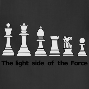 The light side of the Force, chess, pawns Hoodies - Adjustable Apron