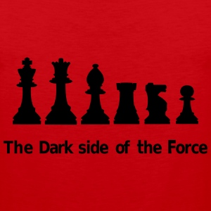 The dark side of the Force, chess, pawns Women's T-Shirts - Men's Premium Tank