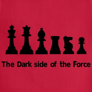 The dark side of the Force, chess, pawns Kids' Shirts - Adjustable Apron