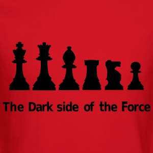 The dark side of the Force, chess, pawns Kids' Shirts - Crewneck Sweatshirt
