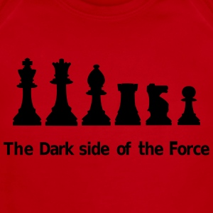The dark side of the Force, chess, pawns Kids' Shirts - Short Sleeve Baby Bodysuit