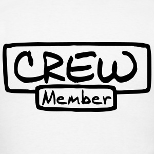Crew Member Long Sleeve Shirts - Men's T-Shirt