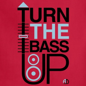 TURN THE BASS UP - Reggae colours - Crossfader DJ  - Adjustable Apron