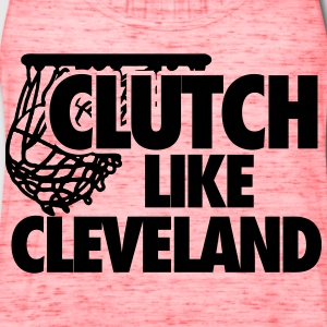 Clutch Like Cleveland T-Shirts - Women's Flowy Tank Top by Bella