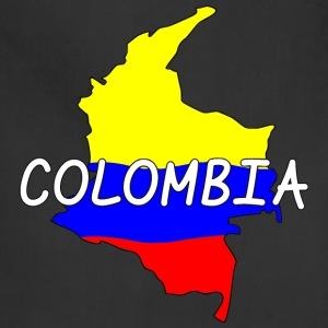 Colombia T-Shirts - Adjustable Apron